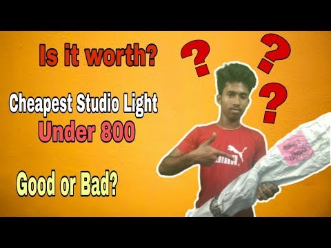 Download Cheapest studio light setup under 800 tiktok lights Is it worth? Good Or BAD? TECH WITH PIKU