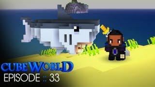Cube World :: Episode 33 :: Land Shark!