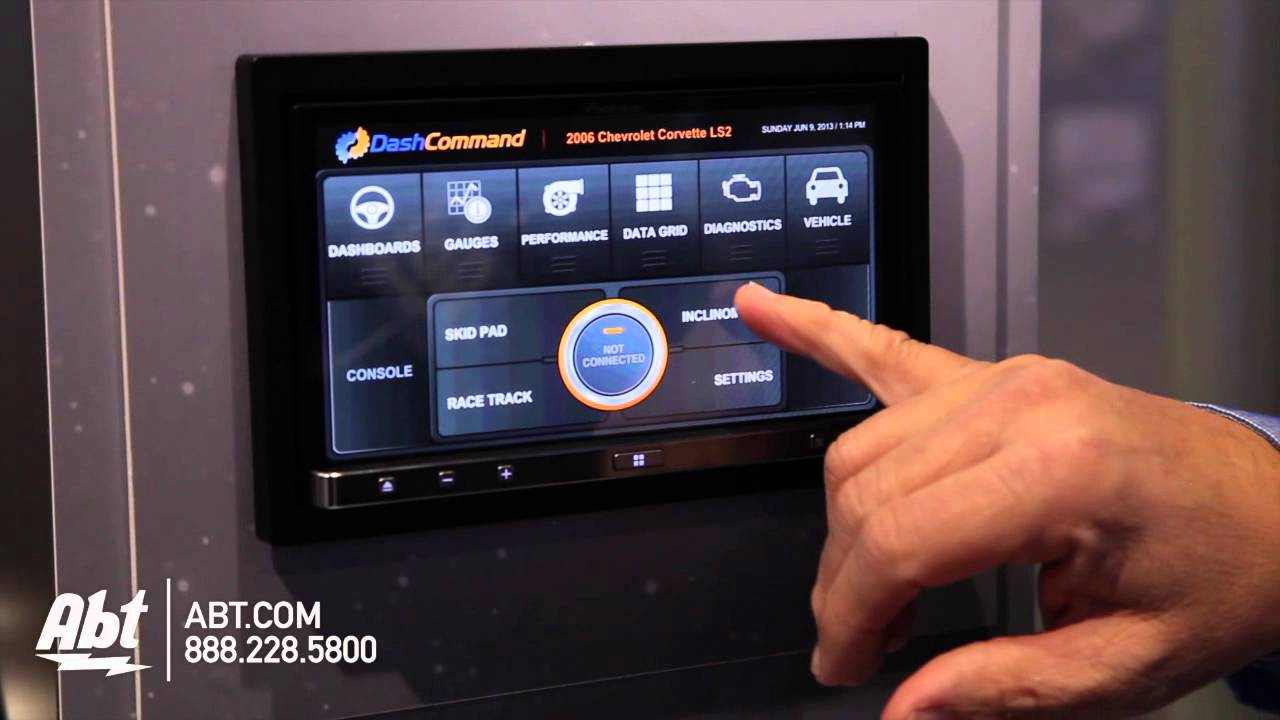 Pioneer Appradio3 Dashcommand by Palmer Performance - CES 2014