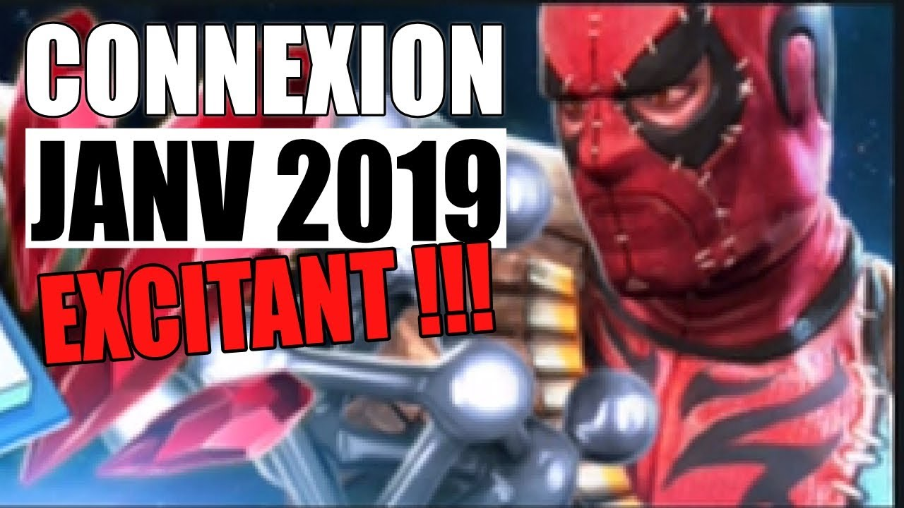 Marvel Calendrier.Calendrier Connexion Quotidienne Janvier 2019 Excitant Marvel Tournoi Des Champions