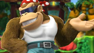 7 Minutes of Funky Kong in Donkey Kong Country: Tropical Freeze on Switch - PAX East 2018