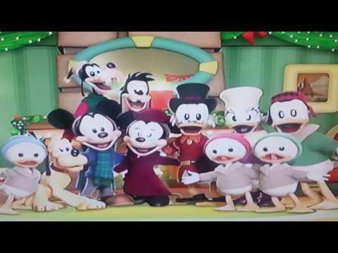 Mickey's twice upon a christmas ending song