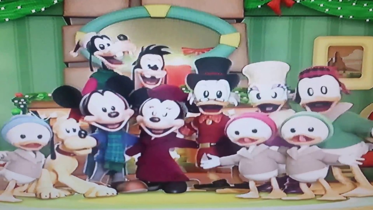 Mickey S Twice Upon A Christmas Ending Song Youtube