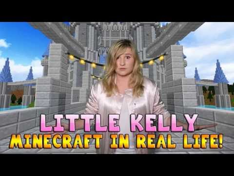 Realistic Minecraft - LITTLE KELLY IS IN MINECRAFT #1