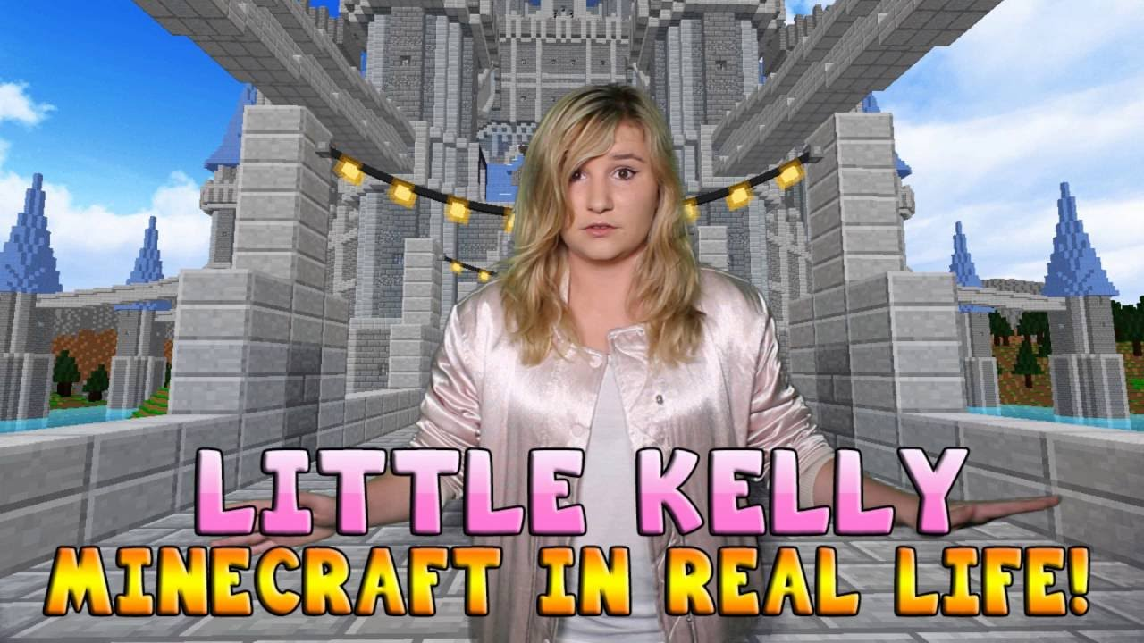 Realistic Minecraft - LITTLE KELLY IS IN MINECRAFT #10