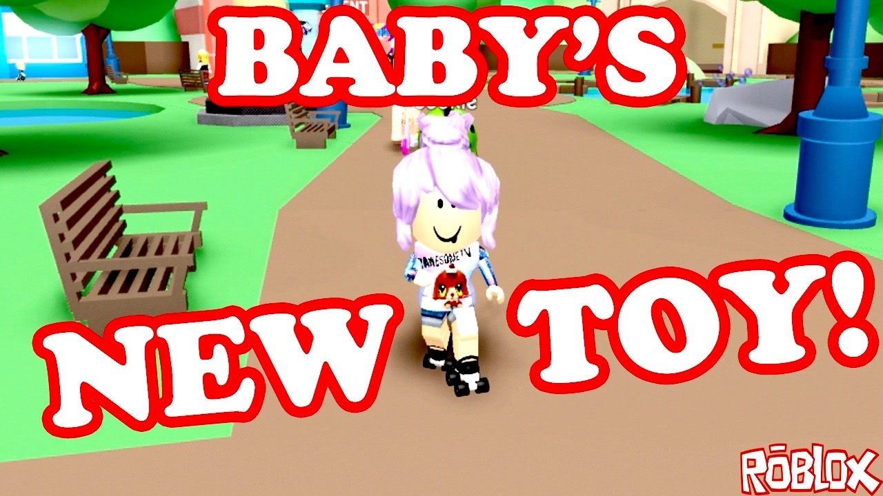 Roblox / BABY PAWESOME'S NEW TOY!! / Meep City ...