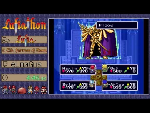 Lufiathon 2016 - Lufia & The Fortress of Doom by Elmagus in 3:53:57
