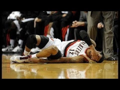 NBA Players Getting Injured From Crossovers