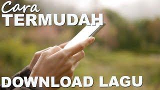 Trik Termudah Download Lagu Lewat Ponsel, Klik Aja
