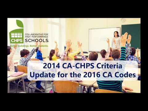 2017 CA-CHPS Webinar featuring WindowMaster