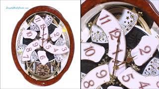 Woodgrain Marvelous Wall Clock / 4MH412WU23
