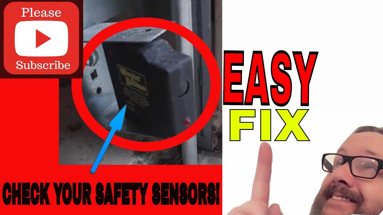 small resolution of  garage door opener troubleshooting wayne dalton opener not closing