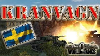 World Of Tanks /// Kranvagn - 4000+ Damage