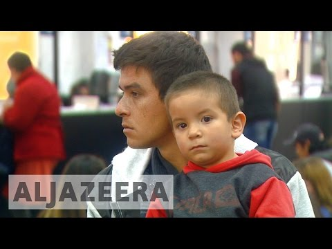 Venezuelans head to Argentina to escape hardship