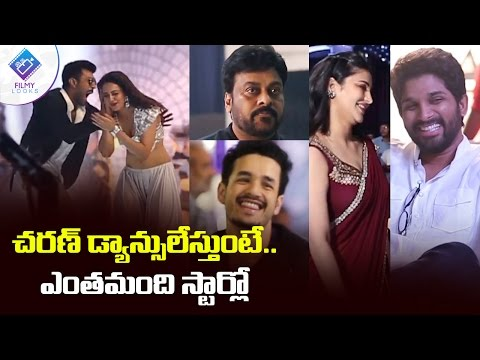 Tollywood Celebrities at Dhruva Movie Sets | dhruva songs | dhruva movie making