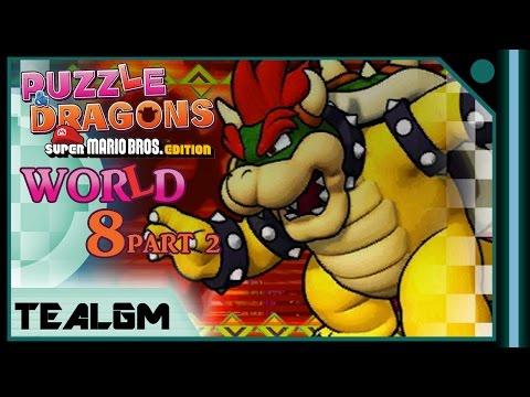 Puzzle Amp Dragons Super Mario Bros Edition World 8 Final
