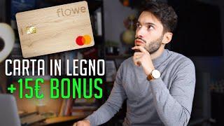 Recensione della carta e del conto Flowe. Flowe è una carta e un conto del gruppo Mediolanum. In questo video vi elencherò i vari vantaggi, come la possibilità ...