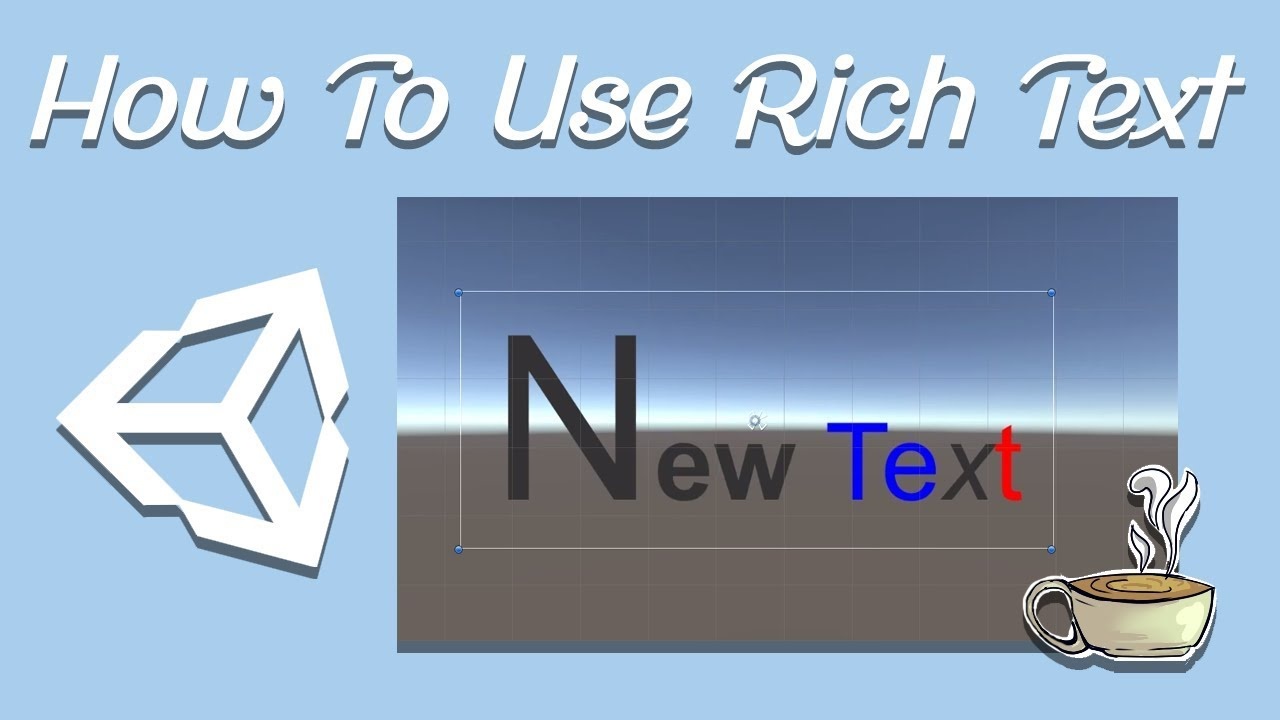 How and Why to use Rich Text in your C# Unity Game