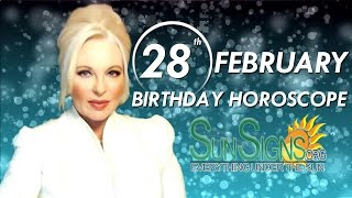 Birthday February 28th Horoscope Personality Zodiac Sign Pisces Astrology