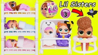 L.O.L. Surprise! Dolls Series 3 Baby Babysit School House Lil Sisters Christmas Holiday Pet Unboxed!