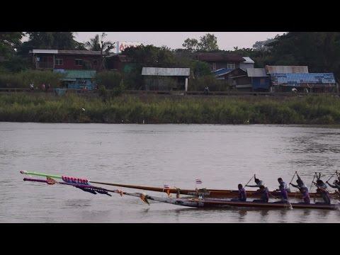 ประเพณีแข่งเรือยาวอุบล 2557 3 2014 Ubol long boat racing tradition