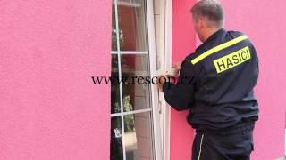 Rescop - W nouzové otevření okna vyklopeného na ventilaci