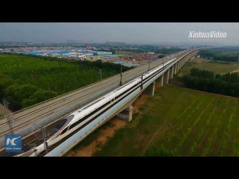 China developing 600 kph high-speed trains