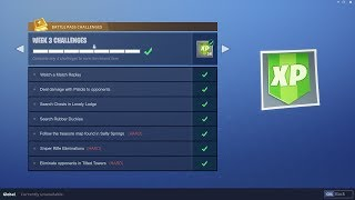 WEEK 3 CHALLENGES LEAKED! | Early Guide! | Fortnite Battle Royale