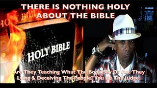 Are They Teaching What The Book Say Or Are They Lying & Deceiving The People? You Be The Judge.