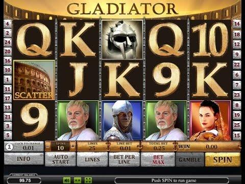 Играть бесплатно в игровые автоматы гладиатор как заработать много денег самп казино