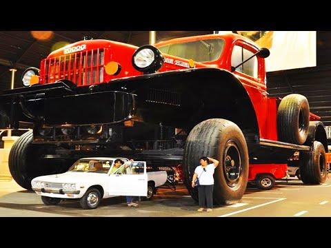 รถยักษ์..รวมบิ๊กฟุตตัวพ่อ : รถใหญ่แปลกๆ หาดูยาก