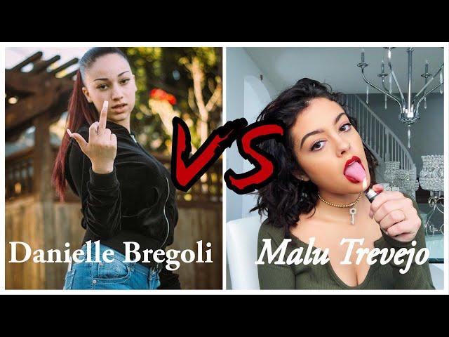 Danielle Bregoli VS Malu Trevejo - Instagram Live 2019