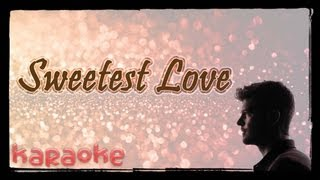 The Sweetest Love - Robin Thicke [karaoke]