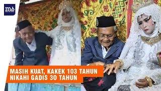 Masih Kuat, Kakek 103 Tahun Nikahi Gadis 30 Tahun