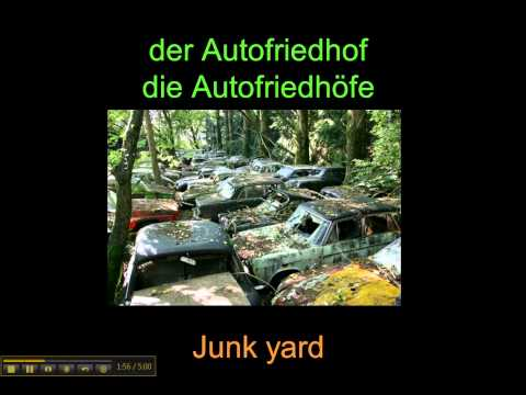 Automobile Vocabulary In German - Www.germanforspalding.org
