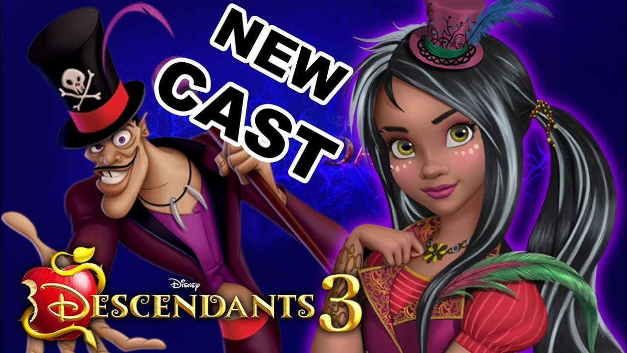 Descendants 3 New Cast Dr Facilier S Daughter Is