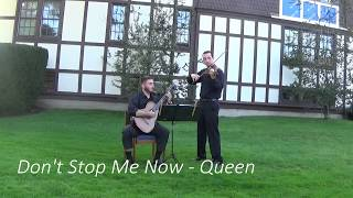 Don't Stop Me Now - Queen, Cover, Violin + Guitar