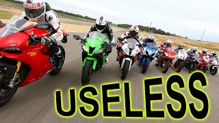 Liter Bikes 1000cc Sport Bikes are USELESS... mostly