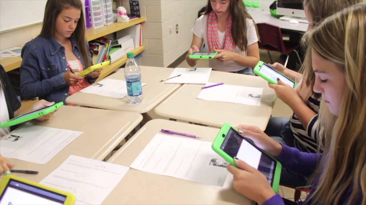 AR in classroom