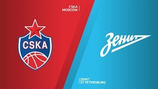 CSKA Moscow - Zenit St Petersburg Highlights | Turkish Airlines EuroLeague, RS Round 27