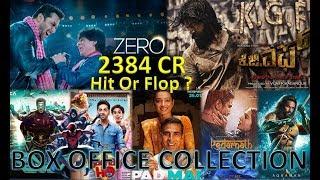 Box Office Collection Of Zero, Aquaman, Robot 2.0, Kedarnath, Spider-verse Movie etc 2018