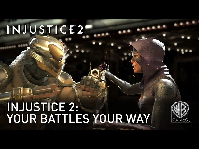 Injustice 2's Gear System Allows Costume and Skill Customization (VIDEO)