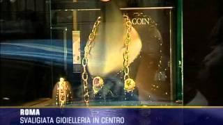Gioielleria svaligiata nel cuore di Roma
