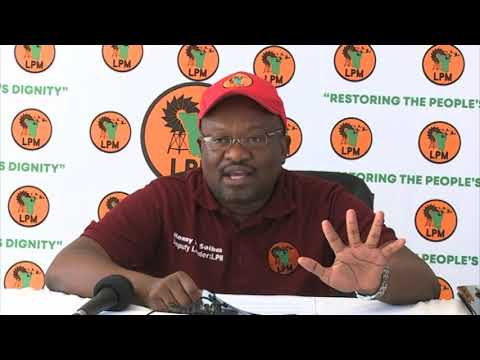 LPM  wants prominent lawyer Sisa Namandje investigated on the Fishrot Scandal-NBC