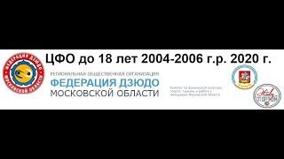ЦФО до 18 лет 2020 Татами 1