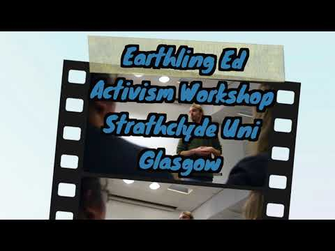 Paisley vigil,Glasgow cube of truth and activism workshop with Earthling Ed