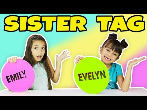 SIBLING TAG - Sister Tag TwoSistersToyStyle