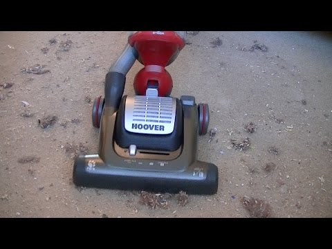 Hoover Globe GL1103 Bagless Upright Vacuum Cleaner Demonstration & Review