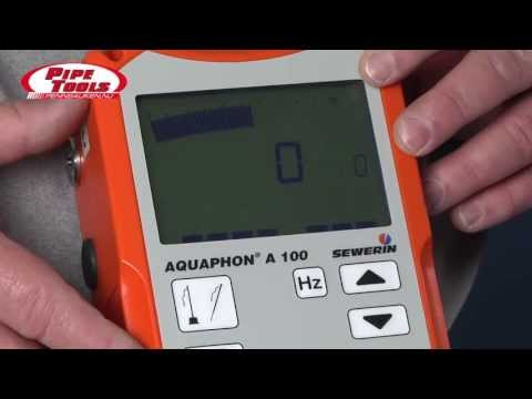 Sewerin Aquaphon A 100 by Pipe Tools Inc