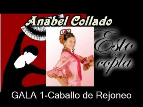 Anabel Collado-Caballo de Rejoneo-Esto es Copla.Concurso Online 2ªTemporada.wmv